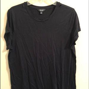 Simply Vera Vera Wang Soft TeeXL Black Tee Shirt